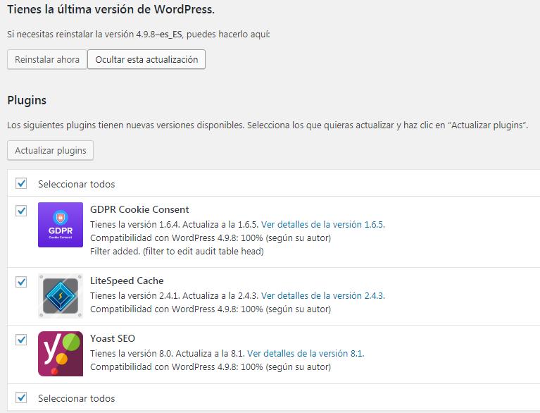 como aumentar la seguridad de una web wordpress
